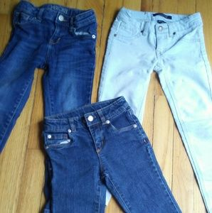 Other - Size 4 5 and 6slim little girl jeans